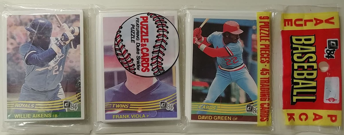 1984 Donruss Baseball Rack Pack
