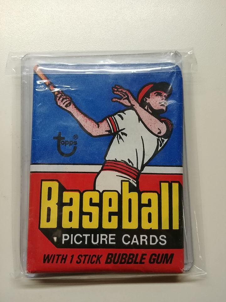1977 Topps Baseball Wax Pack
